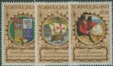 NFI SG525-7 500th Anniversary of Discovery of America by Columbus set of 3